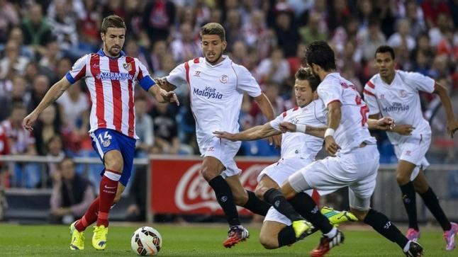 وقت مشاهدة مباراة اشبيلية واتليتكو مدريد بث مباشر وقناة مجانية للمباراة الكبيرة في الدوري الاسباني
