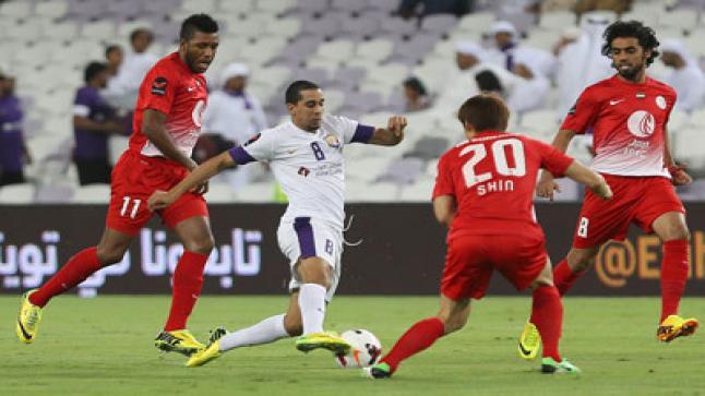 مشاهد مباراة الجزيرة والعين بث مباشر لايف اون لاين جودة عالية أبو ظبي الرياضية دبي الرياضية كأس الخليج العربي الإماراتي