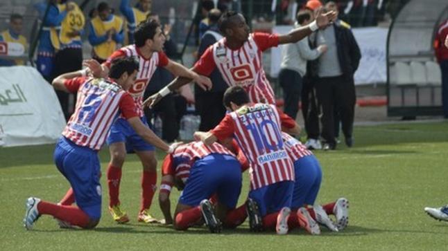 مباراة نارية بين المغرب التطواني والفتح الرباطي في الدوري المغربي الممتاز