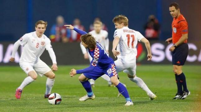 ميعاد مشاهدة مباراة النرويج وكرواتيا بث مباشر والقنوات المجانية الناقلة في التصفيات المؤهلة ليورو 2016