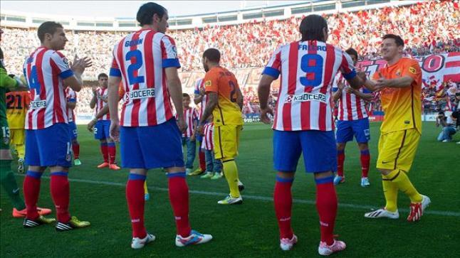 ميعاد مشاهدة مباراة برشلونة واتليتكو مدريد بث مباشر وقنوات النقل المجاني للملحمة في الدوري الاسباني