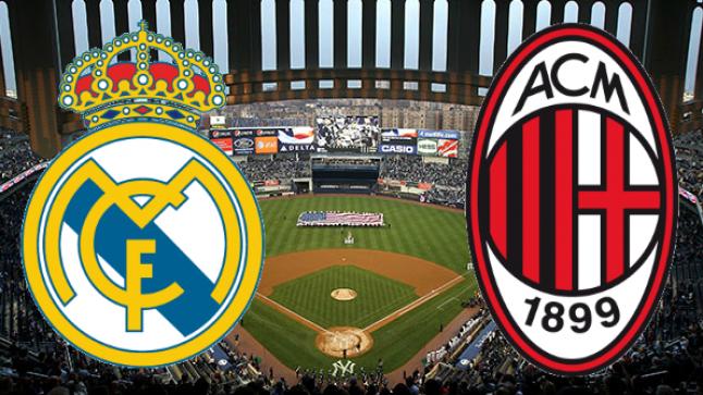 مشاهدة مباراة ريال مدريد وميلان بث مباشر اليوم لايف بجودات مختلفة تعليق محمد الكواليني