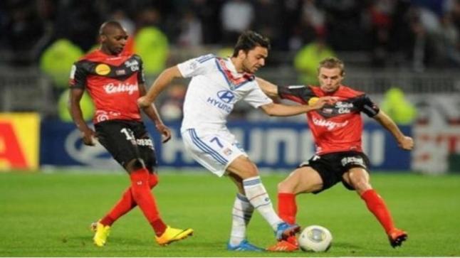 مشاهدة مباراة ليون وجانجون بث مباشر لايف اون لاين يوتيوب بي ان سبورت 5 اتش دي الدوري الفرنسي