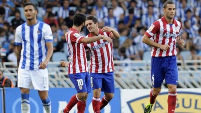 مشاهدة مباراة اتلتيكو مدريد وريال سوسيداد بث مباشر والروخي بلانكوس يواجهون الأبيض والأزرق الملكي