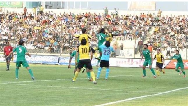 مشاهدة مباراة اربيل والشرطة بث مباشر اليوم والأصفر في مواجهة عراقية حامية الوطيس أمام الأخضر