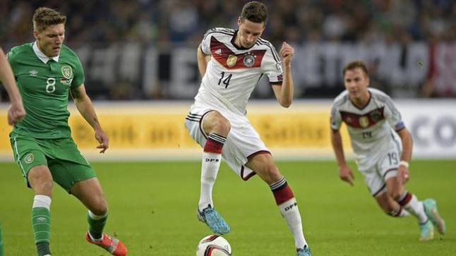 موعد وقت مباراة المانيا وايرلندا المانشاف في مهمة صعبة على ملعب كروكي بارك ستاديوم