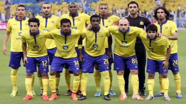 موعد توقيت مباراة النصر والفيصلي غدا على استاد الملك فهد الدولي في سعي العالمي للثلاث نقاط
