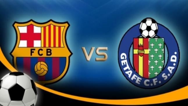 نتيجة مباراة برشلونة وخيتافي اليوم وتفوق البرسا بثنائية المبدعين لويس سواريز ونيمار وملخص كامل