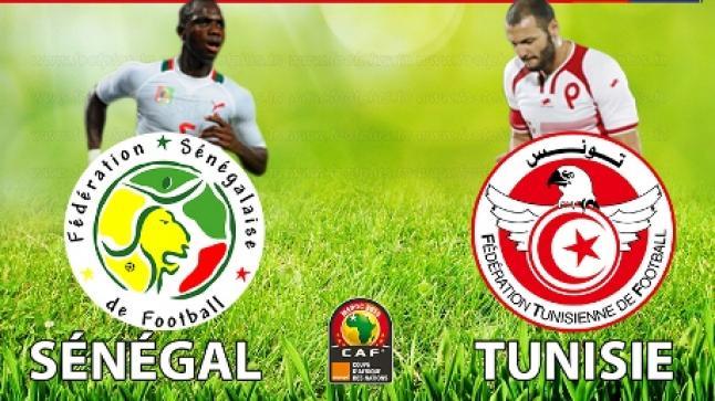 اهداف مباراة تونس والسنغال اليوم ونتيجة اللقاء بفوز السنغاليين بثنائية نظيفة والترشح للنصف النهائي وملخص يوتيوب كامل