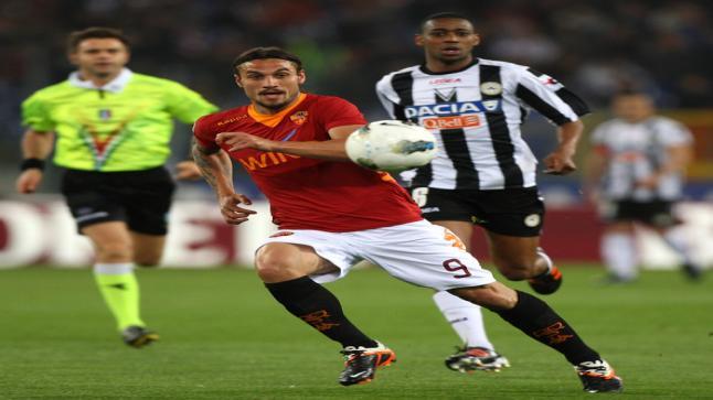مشاهدة مباراة روما واودينيزي بث مباشر اليوم وعلي عدنان يقود دفاع الزيبريتي أمام كتيبة الرومانيستا
