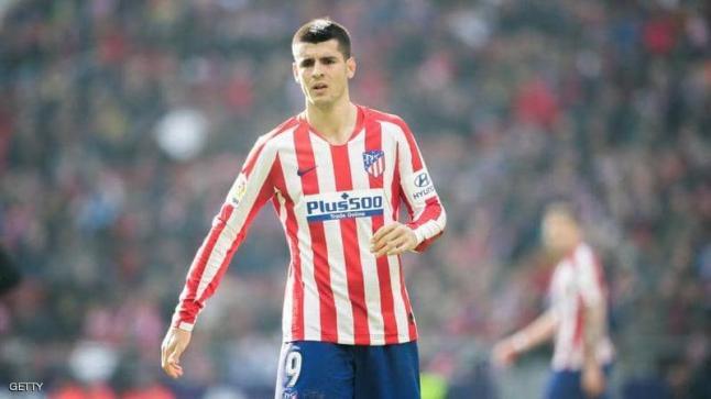 أتليتكو مدريد يوافق على انتقال موراتا لصفوف يوفنتوس