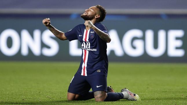 نيمار يثير قلق جماهير باريس سان جيرمان قبل نهائي دوري الأبطال