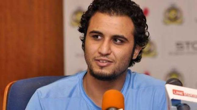 عبدالله العنزي حارس مرمى النصر يكتب تغريدة مستفزة ردا على المشككين والمنتقدين