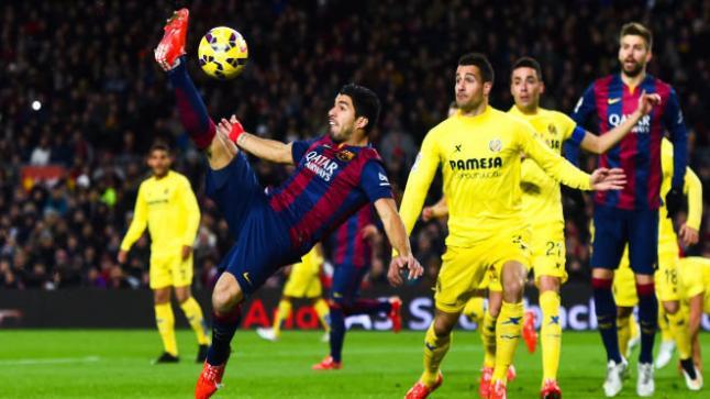 موعد توقيت مباراة برشلونة وفياريال غدا والكتيبة الكتلونية تسعى للنقاط الثلاث أمام الغواصة الصفراء صاحب المركز الخامس