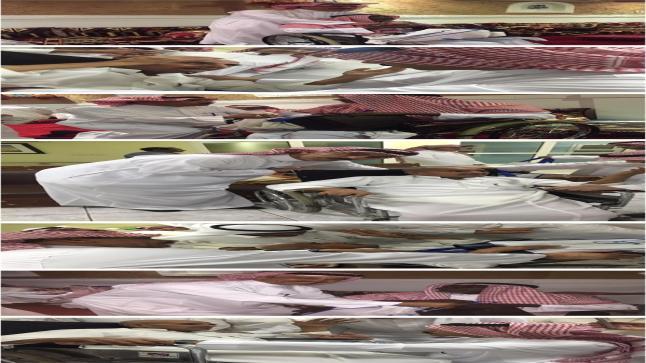 النعيمة يتأثر لرؤية عضو هلالي و لاعب نصراوي بدار للعجز