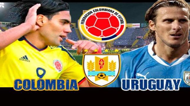 اهداف مباراة كولومبيا واوروجواي ونتيجة المقابلة الثقيلة على الكتيبة الكولومبية وملخص كامل للقاء المتعة